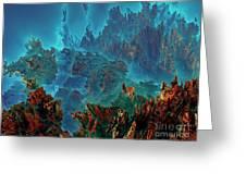Underwater 11 Greeting Card by Bernard MICHEL