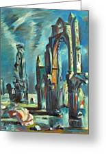 Underwater Cathedral By Chris Greeting Card