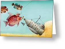 Underwater Story 04 Greeting Card