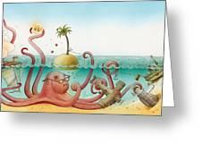 Underwater Story 06 Greeting Card