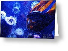 Underwater Swarm Greeting Card