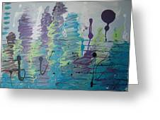 Underwater Symphony Greeting Card