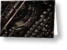 Underwood Greeting Card by John Monteath