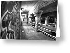 Underworld - The Krog Street Tunnel Greeting Card
