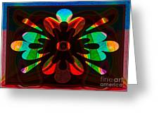Unequivocal Truths Abstract Symbols Artwork Greeting Card
