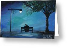 Unforgettable Evening Greeting Card