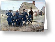 Union Army Surgeons, 1865 Greeting Card