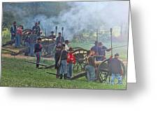 Union Artillery Battery Greeting Card