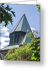 Union Collage Church Greeting Card