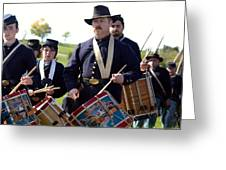 Union Drum Corps Perryville Ky Greeting Card