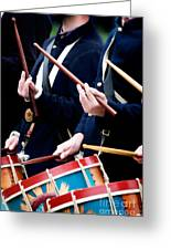 Union Drummers Greeting Card