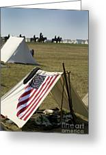 Union Encampment Greeting Card