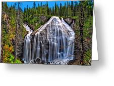 Union Falls Greeting Card