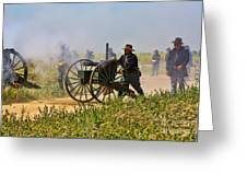 Union Gattling Gun Greeting Card