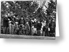 Union Gun Crew Greeting Card