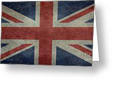 Union Jack 1 By 2 Version Greeting Card