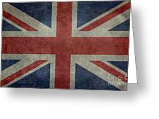 Union Jack 3 By 5 Version Greeting Card