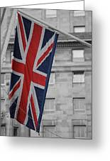 Union Jack Greeting Card