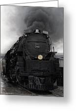 Union Pacific 3985 Greeting Card