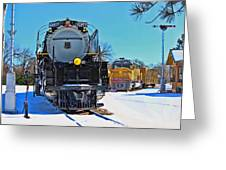 Union Pacific Challenger Greeting Card
