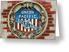 Union Pacific Crest Greeting Card