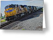 Union Pacific Southbound Greeting Card