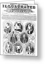 Union Soldiers Released  June 1864 Greeting Card by Daniel Hagerman