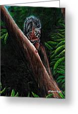 Union Squirrel Greeting Card