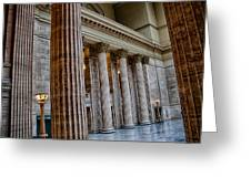 Union Station Chicago Greeting Card