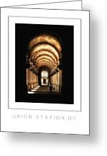 Union Station Dc Poster Greeting Card