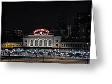 Union Station Denver Colorado 2 Greeting Card