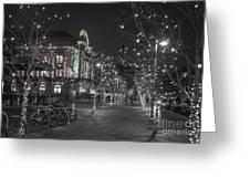 Union Station In The Winter Greeting Card