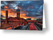 Union Station Portland Oregon Greeting Card