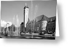 Union Station Saint Louis Mo Greeting Card