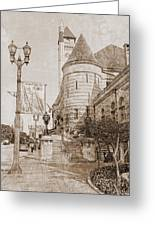 Union Station St Louis Mo Greeting Card