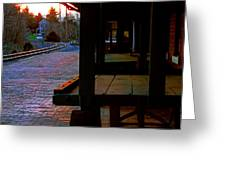 Uniontown Station Greeting Card