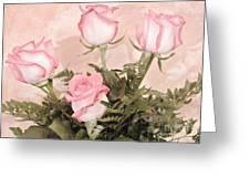 Unique Roses Greeting Card