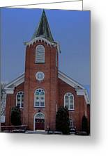 United Methodist Church Lowville Ny Greeting Card