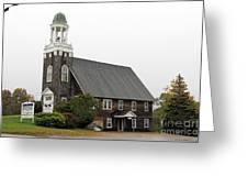 United Methodist Church New Harbor Maine Greeting Card