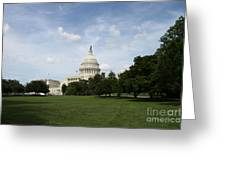 United State Capitol  Washington Dc Greeting Card