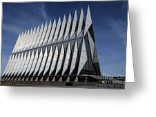 United States Air Force Academy Cadet Chapel Greeting Card