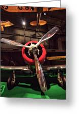 United States Airplane Museum Greeting Card
