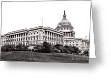 United States Capitol Senate Wing Greeting Card