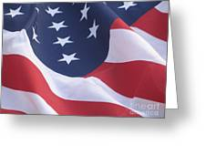 United States Flag  Greeting Card
