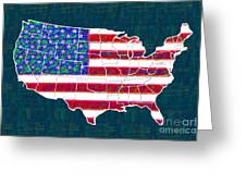 United States Of America - 20130122 Greeting Card by Wingsdomain Art and Photography