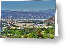 Universal City Warner Bros. Studios Clear Clear Day Greeting Card