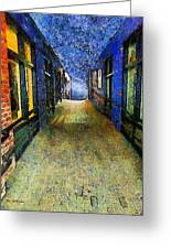 Universe Alley Greeting Card