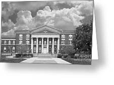 University At Albany Draper Hall Greeting Card by University Icons