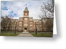 University Hall Ohio State University  Greeting Card