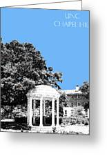 University North Carolina Chapel Hill - Light Blue Greeting Card